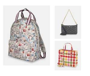 Up to 60% off Cath Kidston Bags Delivery is Free on £30 Spend £3.95 Below From Cath Kidston