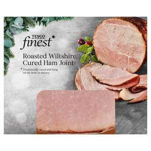 Finest Wiltshire Ham Joint 700g - £2.50 or Crumbed Ham Joint 500g - £1.25 @ Tesco