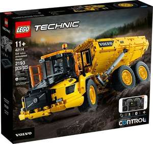 LEGO Technic - 6x6 Volvo Articulated Hauler (42114) £169 @ Coolshop