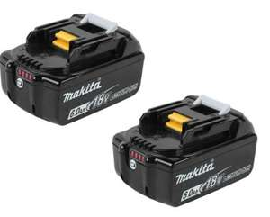 Makita BL1860BX2 18v 6Ah LXT Li-ion Genuine Makstar Battery 2 Pack £139 at FFX