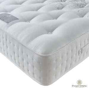 Pocket Spring Bed Company Mulberry 4000 Mattress / Divan Bed set - From £579.99 for Double Mattress @ Costco