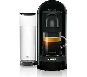 Nespresso XN903840 Vertuo Plus Coffee Machine 1.2L, 100 coffee capsules & 2 months' coffee subscription - £69 @ Amazon