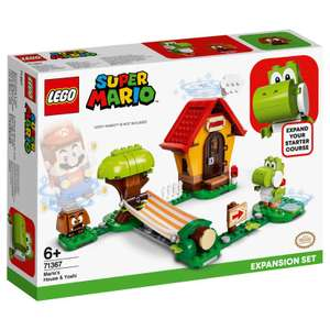 Lego Super Mario's house and Yoshi expansion pack reduced from £24.99 to £20 in B&M