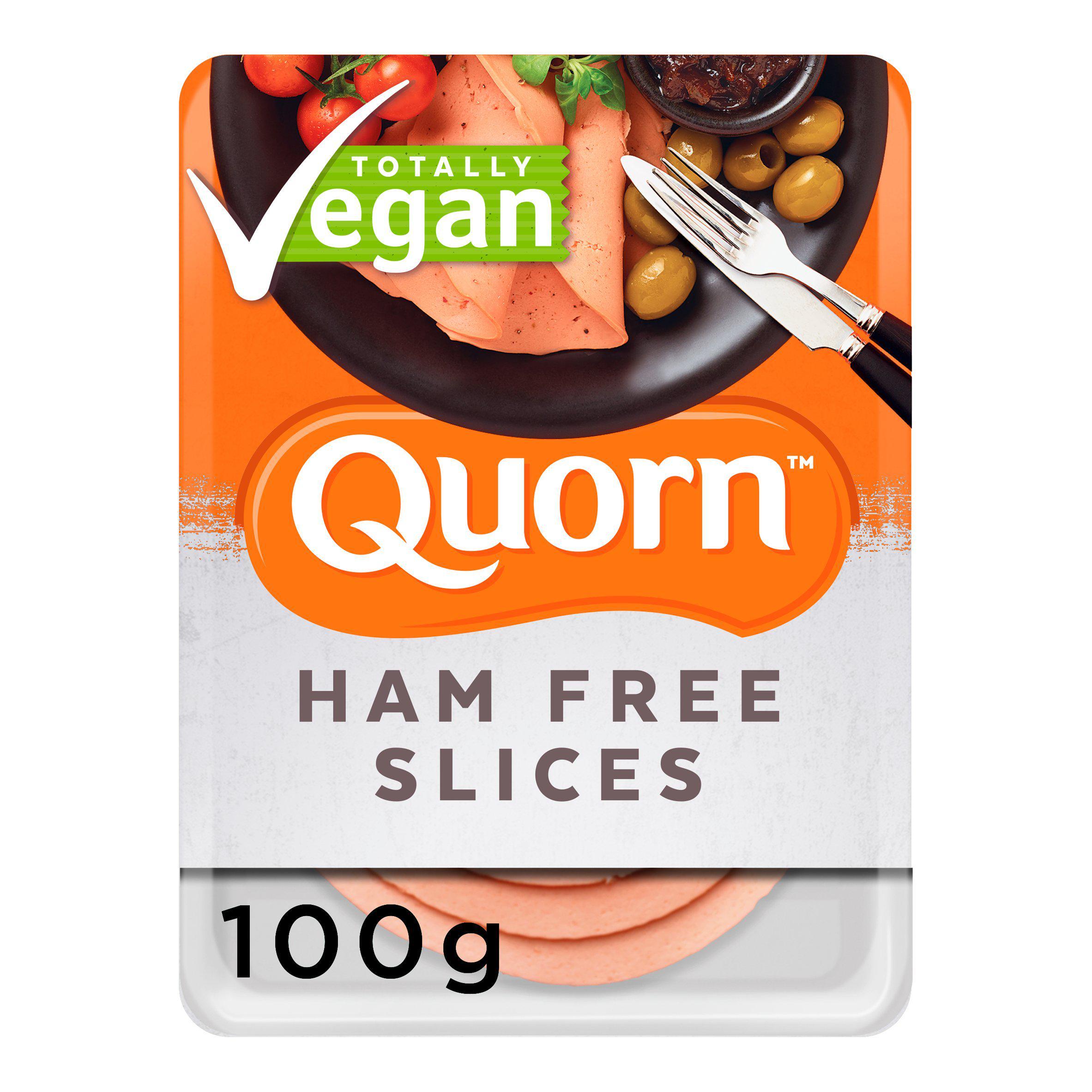 Quorn Vegan Smoky Ham Free Slices 100g or Quorn Vegan Chicken Free Slices 100g - £1.50 @ Sainsbury's