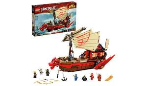 LEGO Ninjago Legacy Destiny's Bounty Ship Set - 71705 £80 free click and collect at Argos
