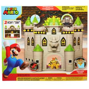 Super Mario Bowser Castle Playset - £20 + free click and collect at Argos