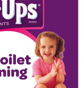Huggies Pull Ups Girls Day Time Potty Training Pants Girls, 17 Pants, 8-17kg - £2 + £1.50 Click and Collect / £3.50 delivery @ Boots