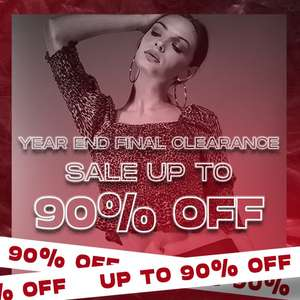 Select Fashion - Up to 90% Off Year End Clearence Sale Online - 99p Click & Collect / £3.99 Delivery