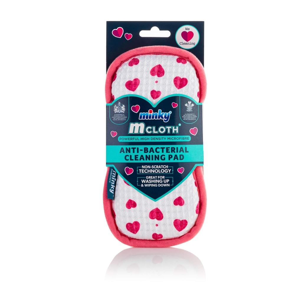 Minky Heart Anti-Bacterial Cleaning Pad £1 @ B&M Retail (Boston)