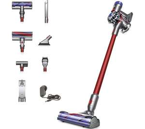 DYSON V7 Total Clean Cordless Vacuum Cleaner - Red Free Click & Collect £199 @ Currys