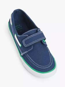 Children's Casual Boat Shoes £4.80/£5.70 (Dependant on Size) (+ £2 Click & Collect) @ John Lewis & Partners