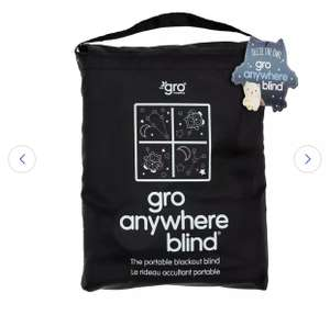 The Gro Company Gro Anywhere Portable Blackout Blind Ollie (click & collect) £8.75 @ Argos