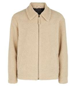 New Look Men's Borg Jacket was £34.99 now £10 (£1.99 collection / £2.99 delivered or free delivery over £25) @ New Look