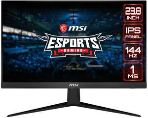 "MSI Optix G241 24"" IPS Full HD Freesync 144Hz Monitor - £179.97 at Laptops Direct"