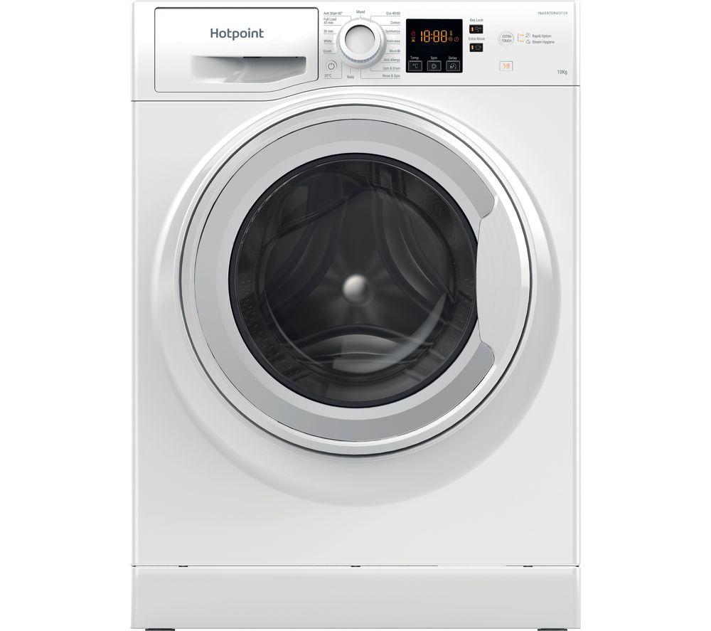 HOTPOINT Core NSWM 1043C W UK N 10 kg 1400 Spin Washing Machine – White £279 at Currys PC World