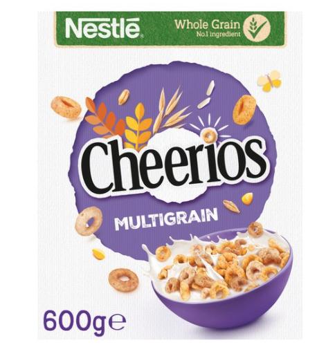 Nestle Cheerios Cereal 600G £2.00 Tesco - Clubcard price