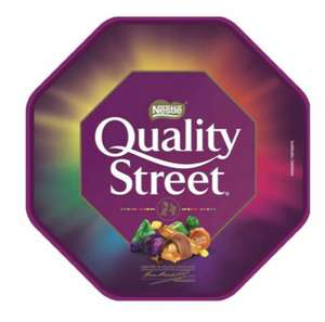 Tubs of Quality street and Celebrations £2.50 at Iceland Oxford
