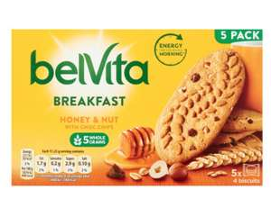 Belvita breakfast biscuits - several variety's £1 @ Morrisons
