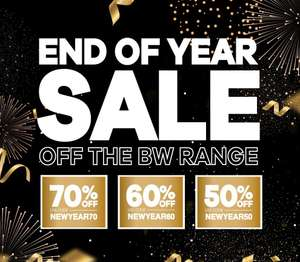 End of year sale at Bodybuilding Warehouse - Up to 70% off! See description for code glitch!
