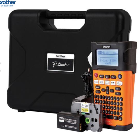 Brother PTE300VP Handheld Label Printer £49.50 @ Toolstation