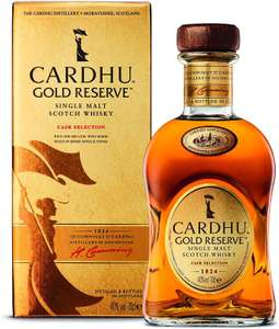 Cardhu Gold Reserve Single Malt Scotch Whisky, 70cl £25 Dispatched from and sold by Amazon.