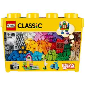 LEGO Classic: Large Creative Brick Box Set (10698) £33.99 delivered at IWOOT