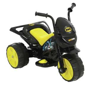 DC Comics Batman 6V Powered Ride On Trike £40 free click and collect at Argos