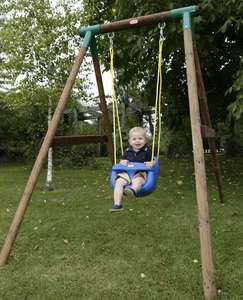 Little Tikes High Back Toddler Swing Seat - Blue £22.50 free click and collect
