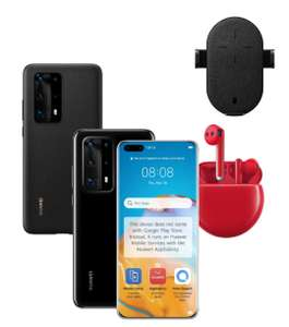 Huawei P40 Pro+ 512GB Smartphone + SuperCharge Wireless Charger / FreeBuds 3 Headphones & PU Phone Case - £899.99 Via Student Beans @ Huawei