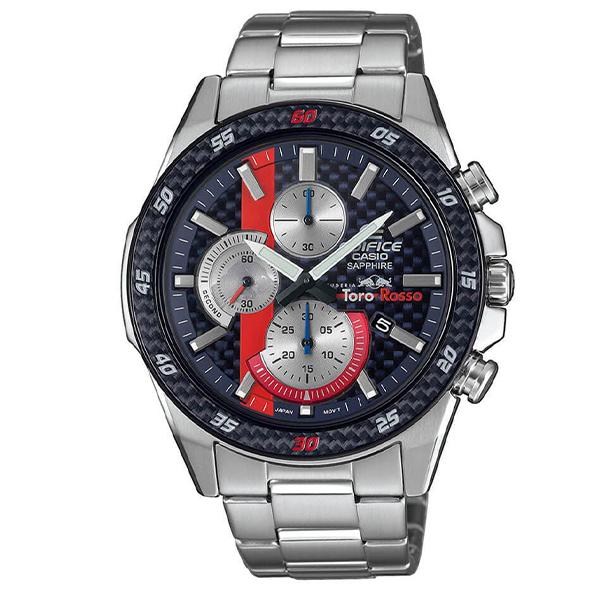 Casio Edifice Toro Rossi Quartz Chronograph Limited Edition of 500 - EFR-S567TRGWP-2AER - £124.50 at Edifice Watches