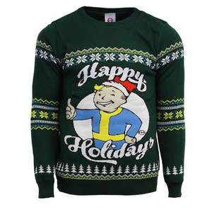 Fallout Christmas jumper £7.99 delivered at MyGeekbox