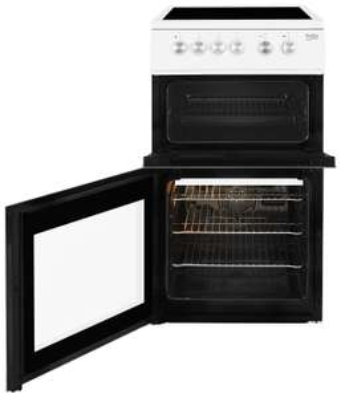 Beko KDVC563AW 50cm Double Oven Electric Cooker - White £289.99 at Argos