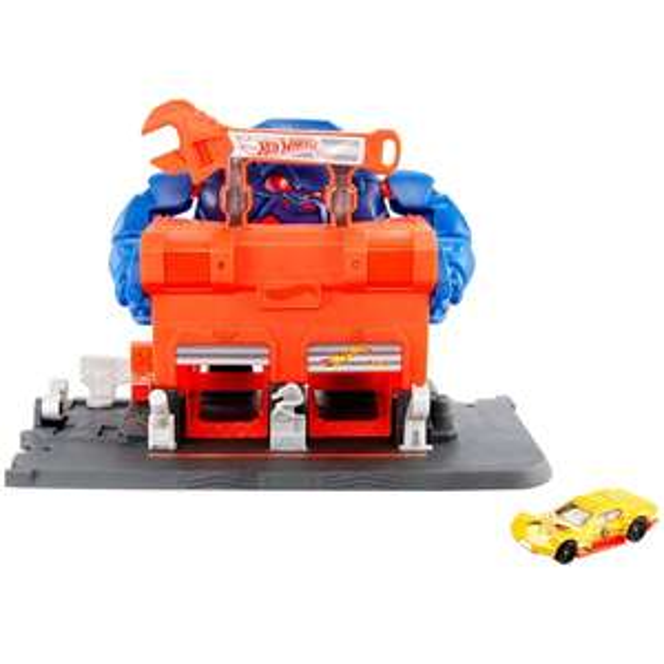 Hot Wheels City Gorilla Rage Garage Attack Play Set - £9.99 Free C&C @ Smyths Toys