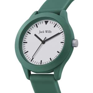 Jack Wills Union JW009GRGR 42mm mens watch in green for £21.70 delivered using code @WatchShop