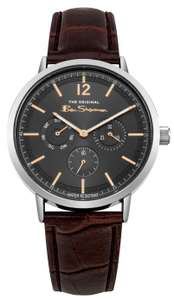 Ben Sherman Men's Brown Faux Leather Strap Watch £17.49 free click and collect at Argos