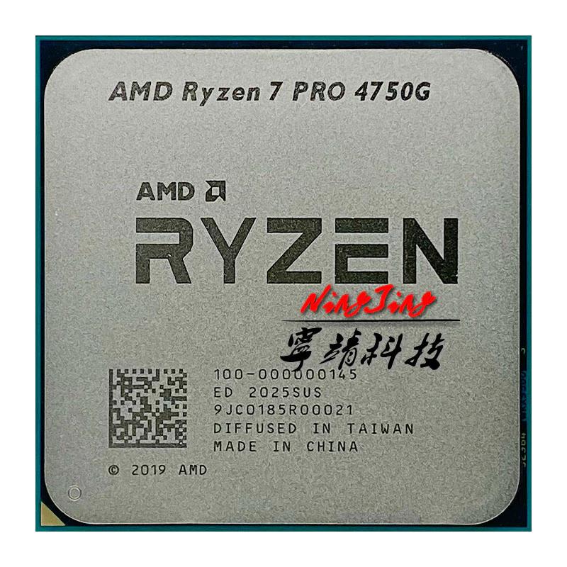 AMD Ryzen 7 PRO 4750G R7 PRO 4750G 3.6 GHz Eight-Core Sixteen-Thread 65W CPU Processor £252.55 at AliExpress SZCPU Store