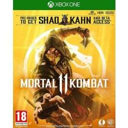 Mortal Kombat 11 with Shao Kahn Playable Character (Xbox One) - £12.95 Delivered @ The Game Collection