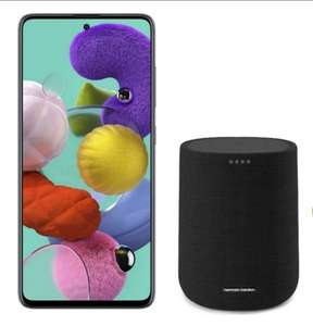 Samsung Galaxy A51 128GB Prism Black Smartphone + Claim Free Harman Kardon Citation One Speaker - £8 Per Month For 30 Months / £240 @ Voxi
