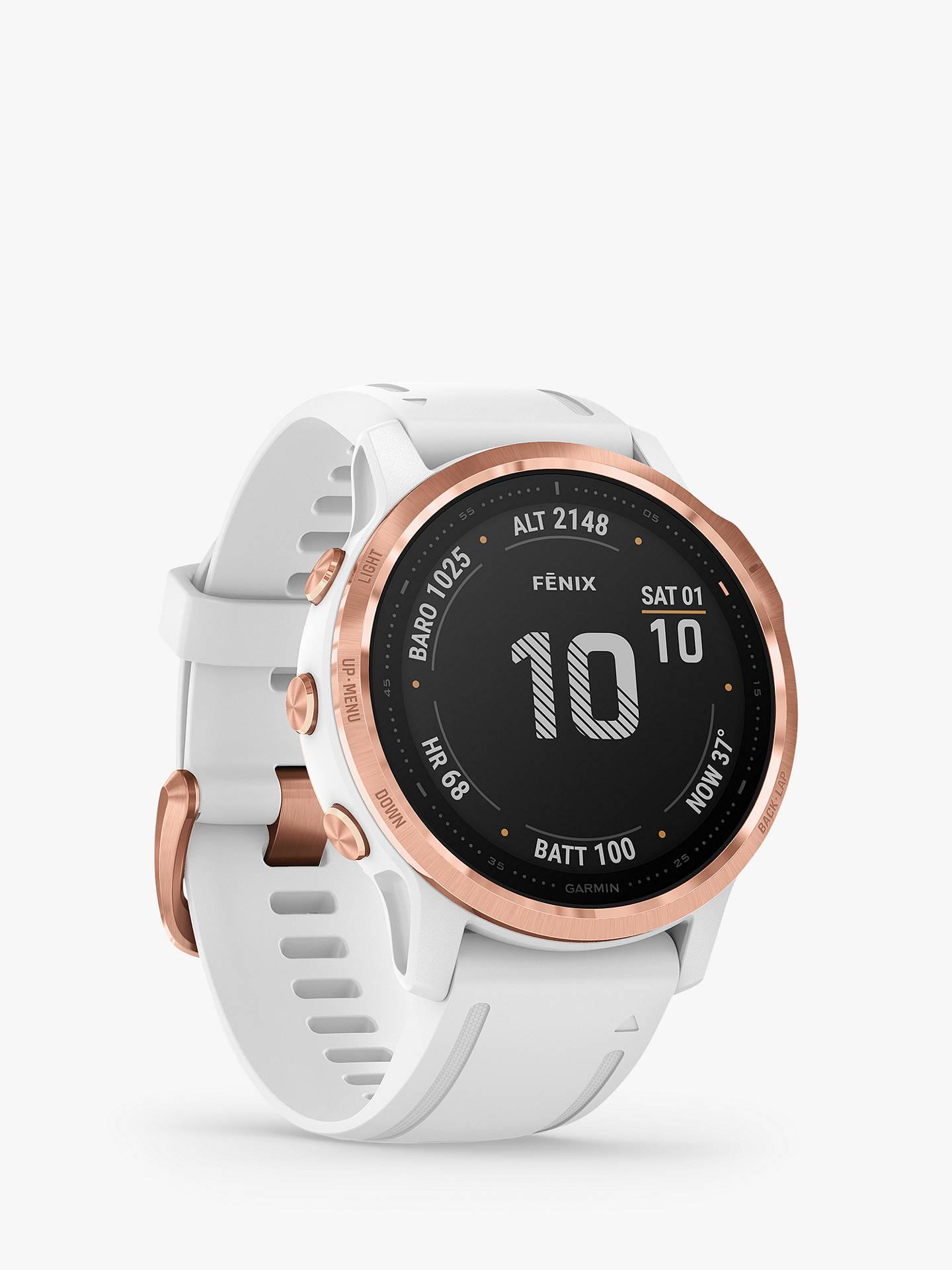 Garmin fenix 6S PRO. Smart Watch Rose Gold £439 @ John Lewis