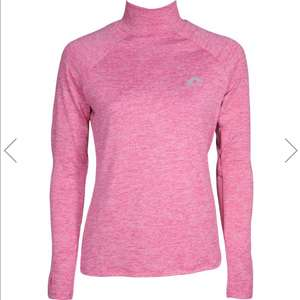 More Mile Train To Run Womens Long Sleeve Funnel Neck Running Top - Pink £12.95 delivered at Start Fitness