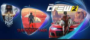 January PS Now. The Crew 2, Surviving Mars, Bioshock 1+2+Infinite Remastered, Frostpunk