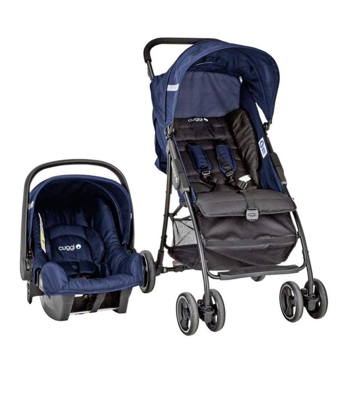 Cuggl Empress Travel System - Car sear & Stroller £19.99 free c&c or £3.95 del @ Argos
