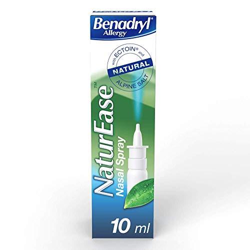 Benadryl Allergy NaturEase Nasal Spray - Helps Manage Nasal Allergy Symptoms – Nasal Spray £3 (Prime) + £4.49 (non Prime) at Amazon