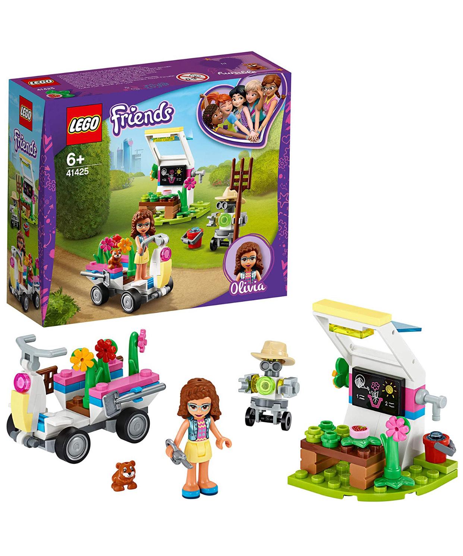 LEGO Friends 41425 Olivia's Flower Garden Play Set with Tools, Zobo the Robot & Toy Go Kart £6 Prime /+ £4.49 non Prime Amazon