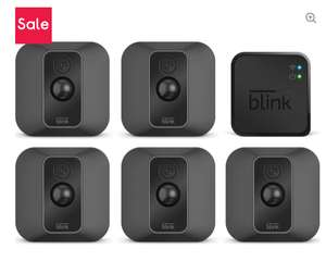 AMAZON Blink XT2 Full HD 1080p WiFi Security System - 5 Cameras £189.99 delivered / 3 Camera £129.99 / 1 Camera £44.99 at Curry's PC World