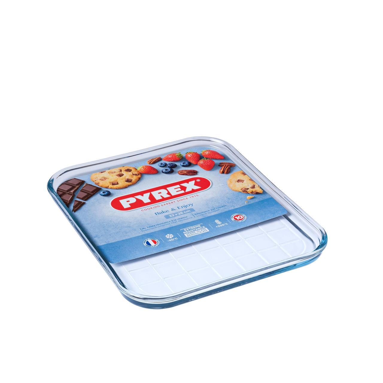 Pyrex Glass Baking Tray 32cm £6.66 @ Ocado