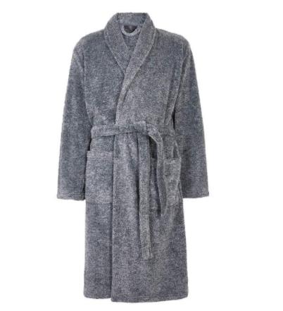 M&S Supersoft Men's Dressing Gown, S-XL, Grey Marl £17.70 @ Ocado