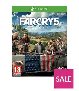 Far Cry 5 for XBOX ONE £19.99 at Very