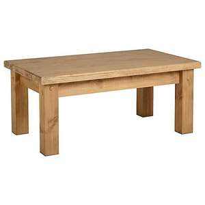 Wooden Coffee Table - £51.15 delivered at Dunelm