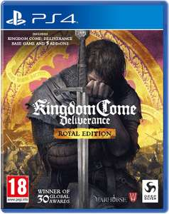 [PS4] Kingdom Come: Deliverance Royal Edition - £12.24 / £10.49 with PS Plus @ PlayStation Store
